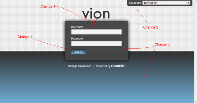 OpenERP 7 Web Client Style