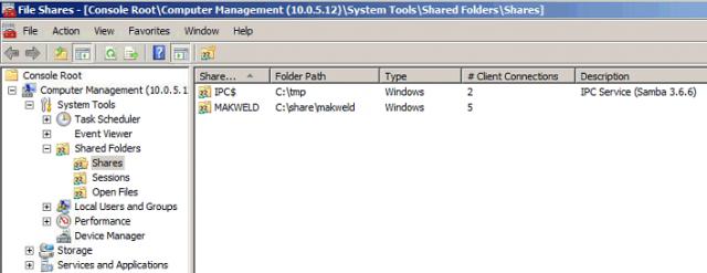 Manage Samba permissions from Windows - VION Technology Blog