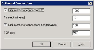 SMTP Outbound Connections
