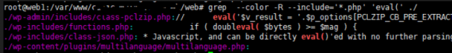 grep - -color command